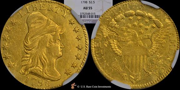 1798 Quarter Eagle