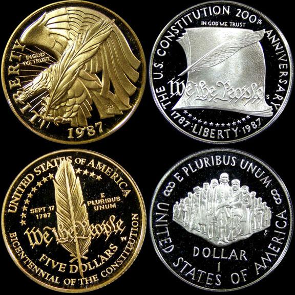 1987 United States Constitution Bicentennial Proof Set