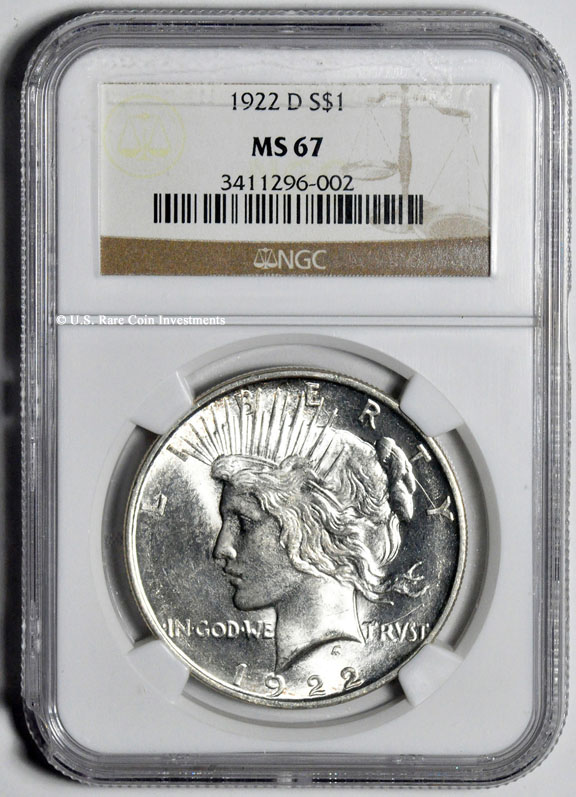 1 Dollar Silver Coin 1922